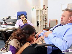 Office, Busty secretary fucked in office carmel moore