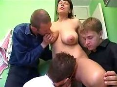 German, German milf gets banged