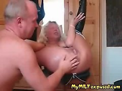 Anal, Rough, Wife, Fisting, Milf, Very horny mature has anal sex
