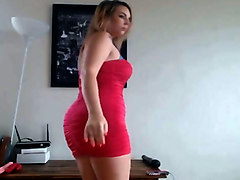 Orgasm, Dress, Super hot and glamorous girl anally fucked