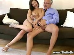 Teen, Two hot school girl fucked by lucky guy part