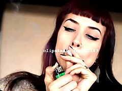 Fetish, Smoking, Smoking fetish masturbation