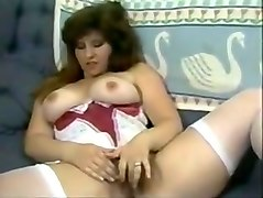Hairy, Classic, Ass, Vintage hairy milf solo masturbation
