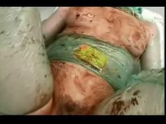 French, Food, French anal gangbang slave