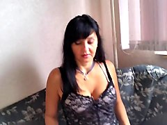 Kitchen, Russian, Mature russian alena
