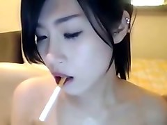 Asian, Smoking, Cute, More janine