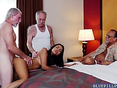Latina, Kay parker with young men