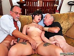 Amateur, Teen, Old Man, Frencg amateur gangbang