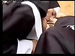 Nun, Compilation, Teen busty hottie lily fucked roughly