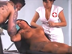 Needle, Intense needle torture of blonde slave -