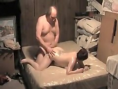 Chubby, Wife, Oil, Chubby brunette pawg wife cheats with monster bbc