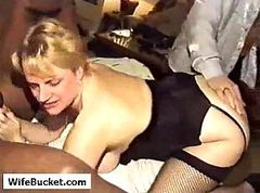 Wife, German, Interracial, Amateur gangbang interracial