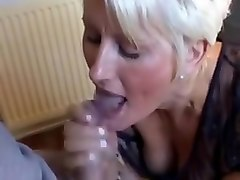 Masturbation, Jerking, German mom
