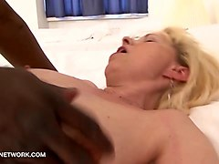Black, Arab girl massage black man