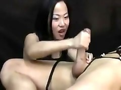 Asian, Orgasm, Post orgasm torture machine