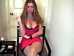 Smoking, Hot mommy smoking sex with son