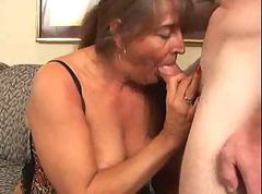 Huge tit mature