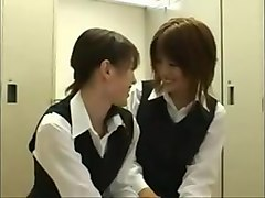 Lesbian, Kissing, Party, Cute, Japanese lesbian orgy party