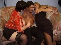 Amateur, Threesome, Spanish amateur mature