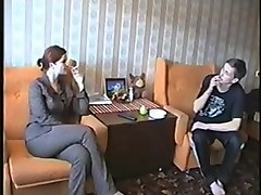 Russian, Milf, Milf seduced by two boys
