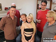 Blonde, Party, Russian, Wedding, Katie summers virgin bride gangbang, 13
