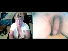 German, Hairy granny assfucked