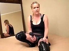 Femdom, Humiliation, Humiliating task before you cum joi