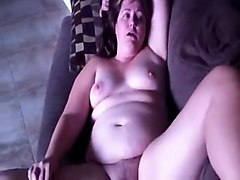 Chubby, Wife, Fat wife gets bbc anal