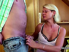 Solo, Son with small dick fuck mom