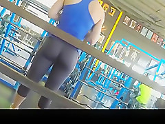 Gym, Girls facesitting the guy tied down alpha porno