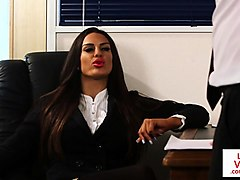 Office, Babe, Cfnm, Slave humiliation tasks