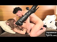 Anal, Boots, Leather, Japanese solo