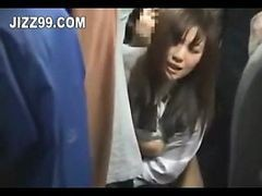 Asian, Bus, Japanese, Creampie, Japanese schoolgirl exam