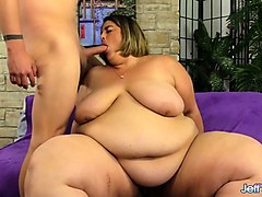Fat, Bbw shows off her big ass