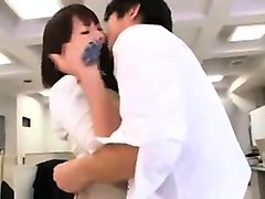 Teen, Japanese girls getting gangbanged