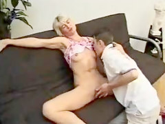 German, Mommy fuck son