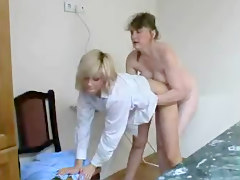 Lesbian, Mature lesbians with young