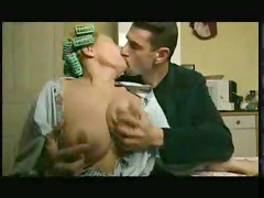 Kitchen, Wife, Creampie in kitchen