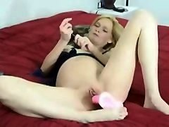 Beauty, Dildo, Pregnant feet solo hd
