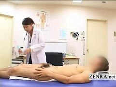 Asian, Penis, Doctor, Japanese, Bath, Cfnm, Milf, Doctor abuse patient on spy cam massage