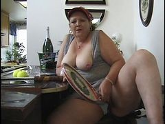 Granny, Bbw, Fat, Asian big tits fat