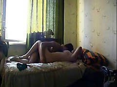 Mom and boy and dad creampie