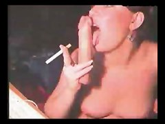Whore, Father and daughter smoking cigarettes sex