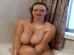 Shower, Mature fucked in shower