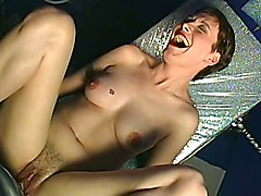Sybian, Riding sybian and sucking
