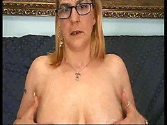 Anal, Glasses, Ass, Mother fuck son before