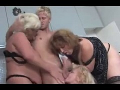 Czech, Group, Party, Mature, Czech party 6