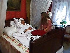 Russian, Nurse, Doctor fuck during treatment