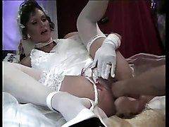 Fisting, Wedding, Dildo, Wife fucking me with a dildo
