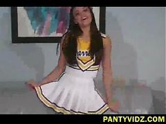 Cheerleader, Lift up your skirt and pull down pantie